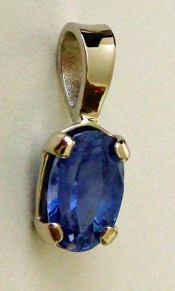Vedic astrology by stephen quong 243 carat natural sapphire from sri lanka oval cut set in 14 karat solid white gold pendant price 888 us dollars plus any applicable sales tax and aloadofball Images